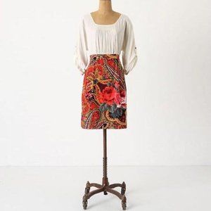 edme & esyllte peasant dress cord paisley rose
